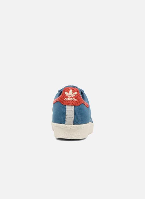 Sneakers adidas originals Superstar 80S Animal Blauw rechts