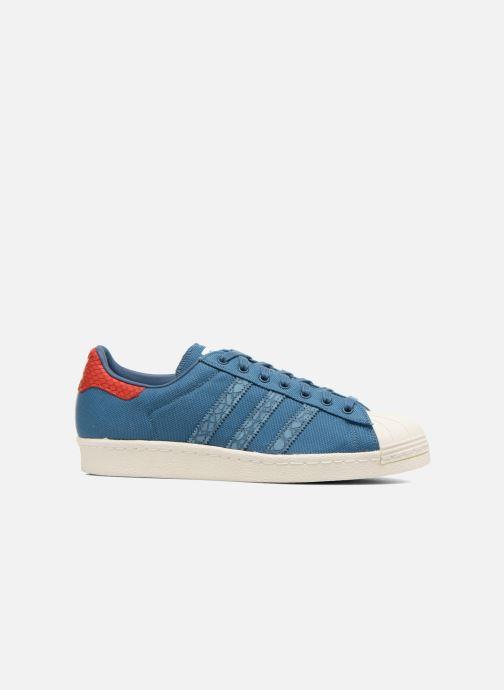 Sneakers adidas originals Superstar 80S Animal Blauw achterkant