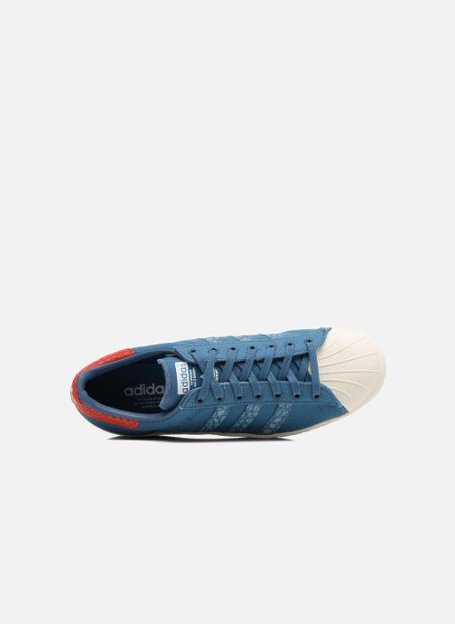 Sneakers adidas originals Superstar 80S Animal Blauw links