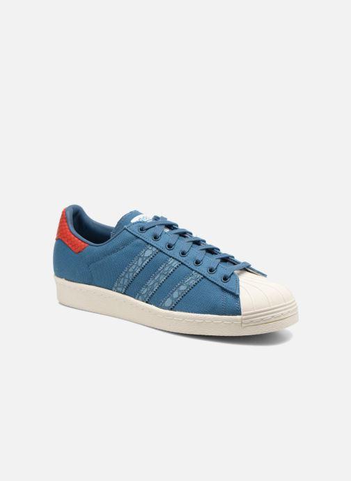 Sneakers adidas originals Superstar 80S Animal Blauw detail