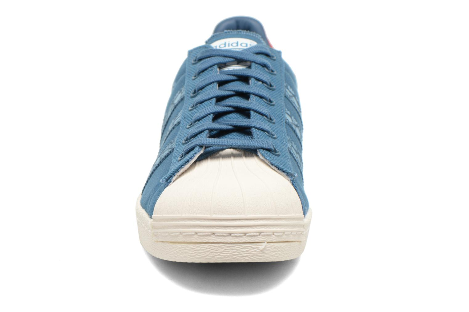 Sneakers Adidas Originals Superstar 80S Animal Blauw model