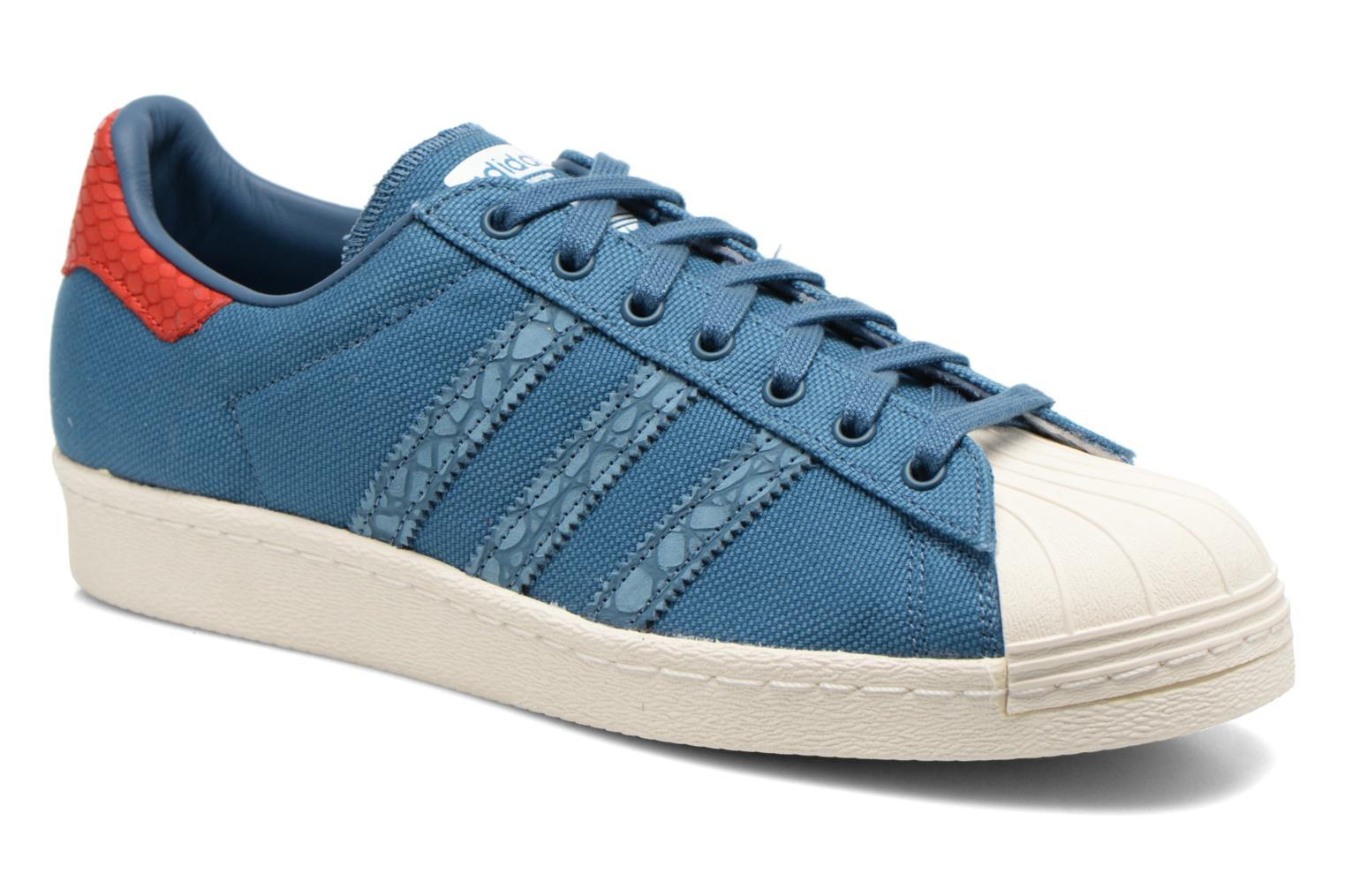 Sneakers Adidas Originals Superstar 80S Animal Blauw detail