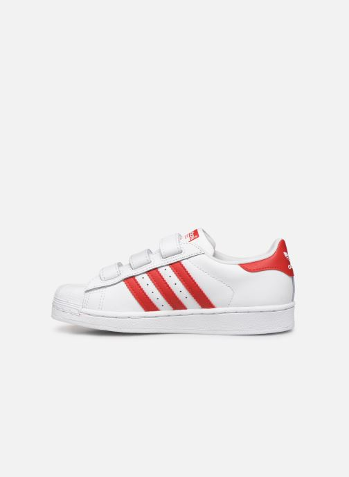 Baskets adidas originals superstar CF C Blanc vue face