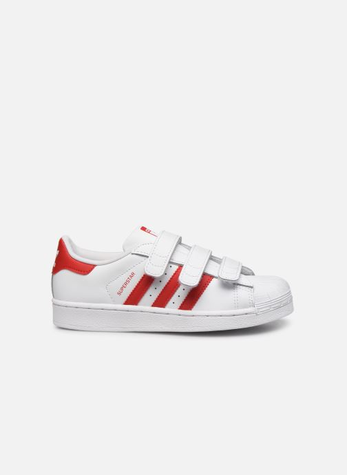 Baskets adidas originals superstar CF C Blanc vue derrière