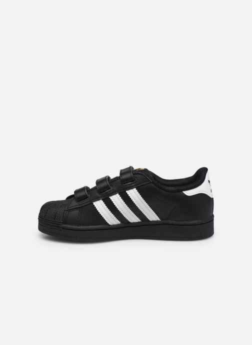 Sneakers adidas originals superstar CF C Nero immagine frontale