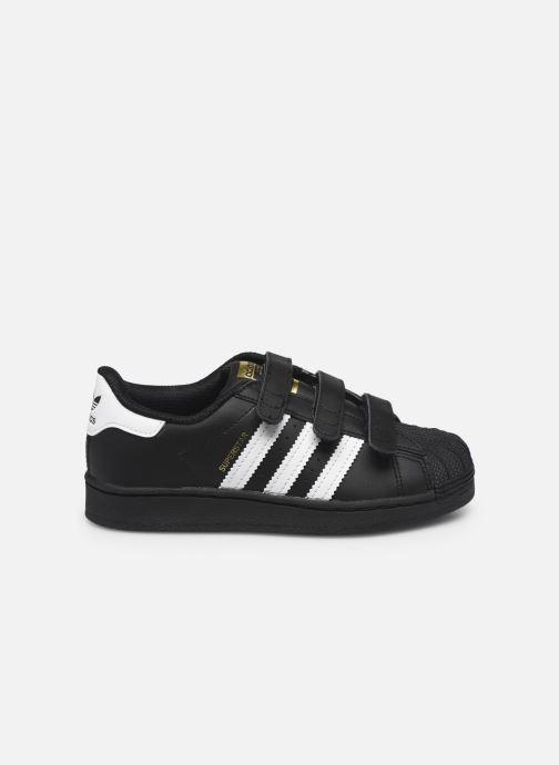 Sneakers adidas originals superstar CF C Nero immagine posteriore