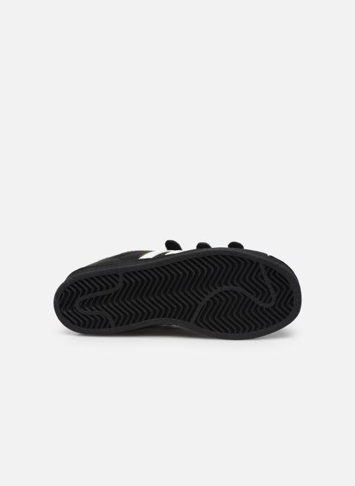 Sneakers adidas originals superstar CF C Nero immagine dall'alto
