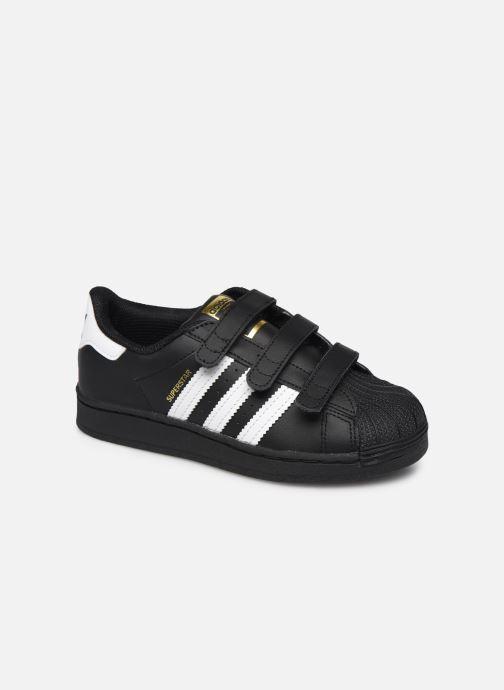 Sneakers adidas originals superstar CF C Zwart detail
