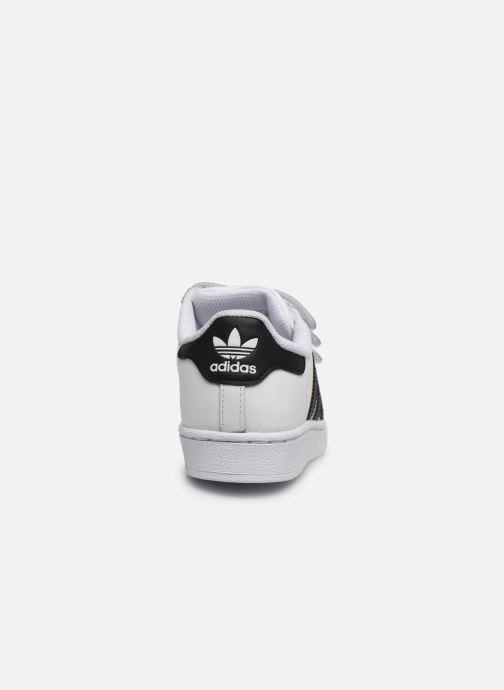 Trainers adidas originals superstar CF C White view from the right