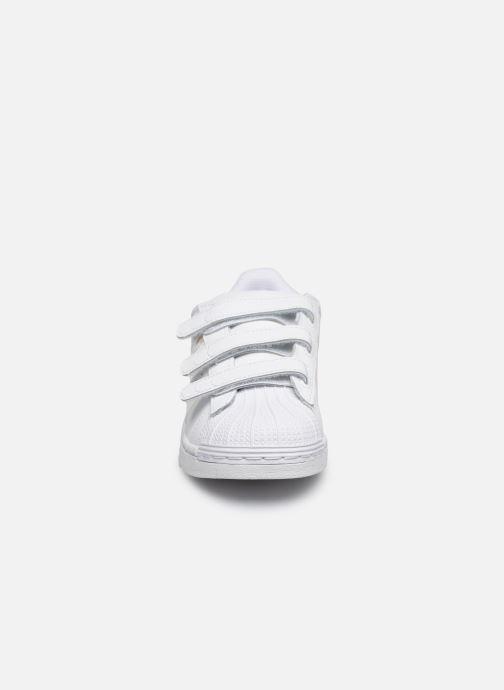 Sneaker adidas originals superstar CF C weiß schuhe getragen