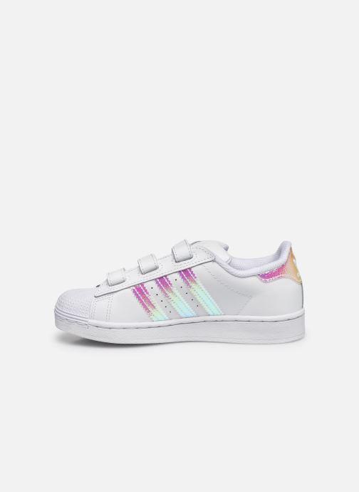 Sneakers adidas originals superstar CF C Wit voorkant