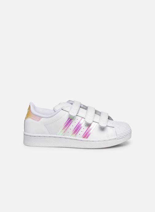 Sneakers adidas originals superstar CF C Wit achterkant