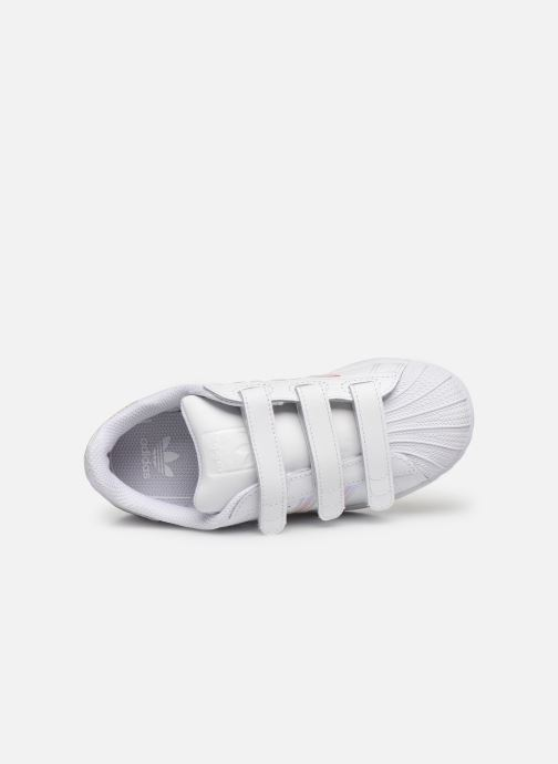 Sneakers adidas originals superstar CF C Wit links
