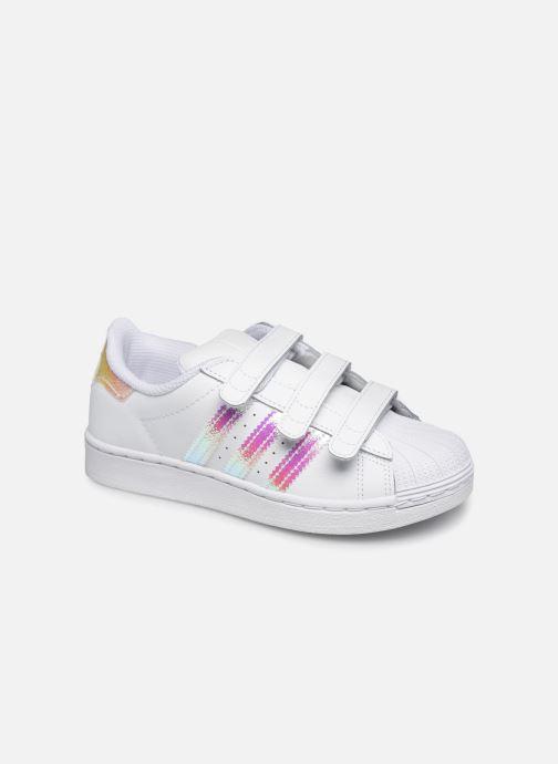 Sneakers adidas originals superstar CF C Hvid detaljeret billede af skoene