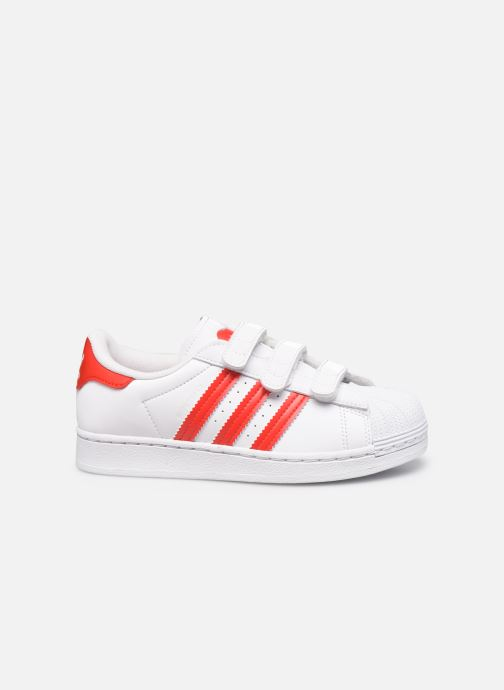 Sneakers adidas originals superstar CF C Bianco immagine posteriore