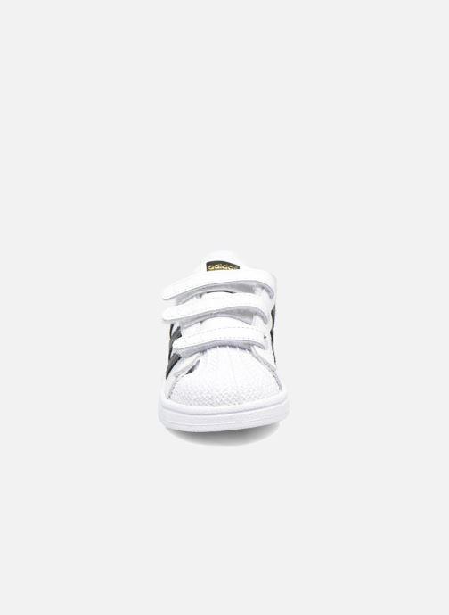 Sneakers adidas originals Superstar CF I Bianco modello indossato