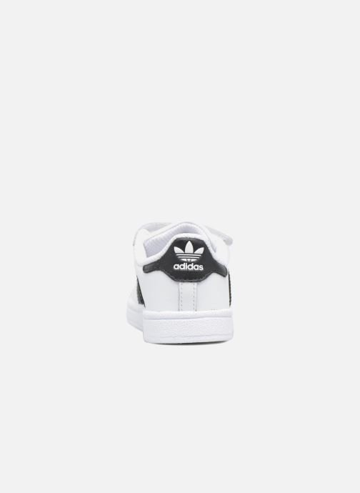 Trainers adidas originals Superstar CF I White view from the right