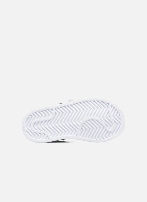Trainers adidas originals Superstar CF I White view from above