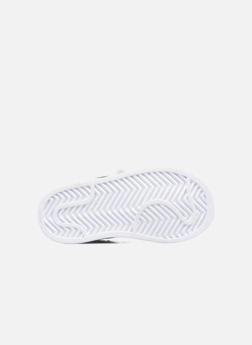 Sneakers adidas originals Superstar CF I Bianco immagine dall'alto