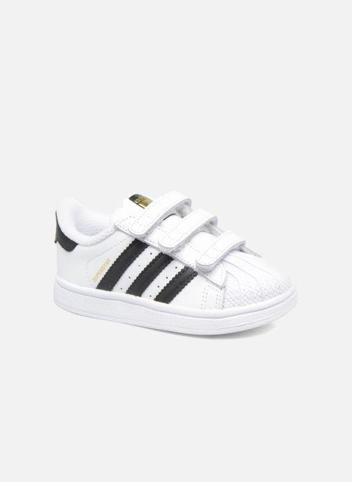 Trainers adidas originals Superstar CF I White detailed view/ Pair view