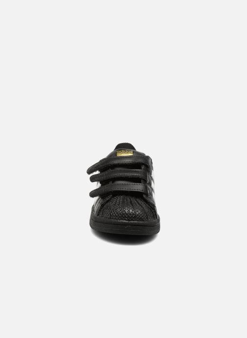 Trainers adidas originals Superstar CF I Black model view