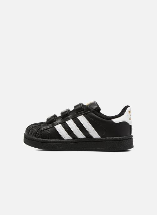 Trainers adidas originals Superstar CF I Black front view