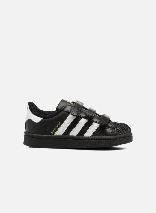 Sneakers adidas originals Superstar CF I Zwart achterkant