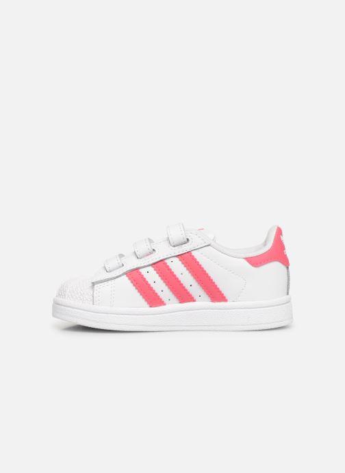 Sneakers adidas originals Superstar CF I Wit voorkant