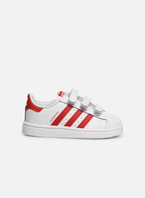 Sneakers adidas originals Superstar CF I Wit achterkant