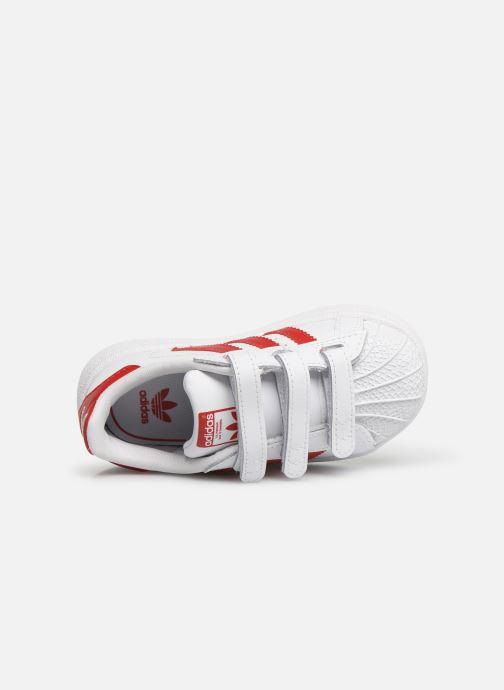 Sneakers adidas originals Superstar CF I Wit links