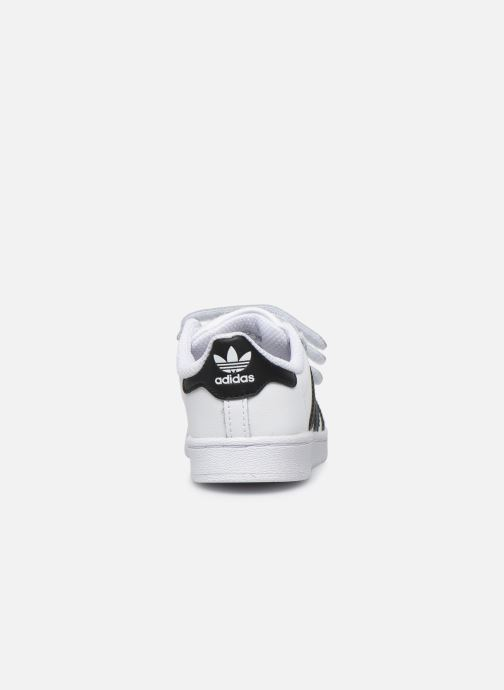 Sneakers adidas originals Superstar CF I Bianco immagine destra