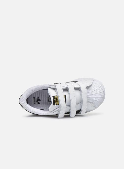 Sneakers adidas originals Superstar CF I Bianco immagine sinistra