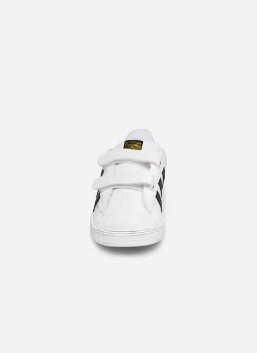Sneaker adidas originals Superstar CF I weiß schuhe getragen