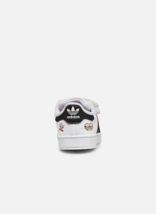 Sneaker adidas originals Superstar CF I weiß ansicht von rechts