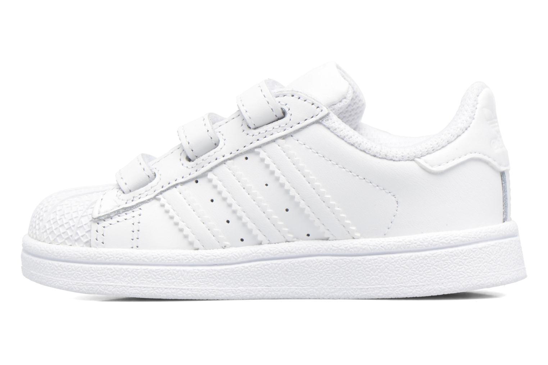 Sneaker Adidas Originals Superstar CF I weiß ansicht von vorne
