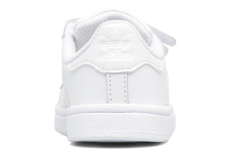 Sneakers Adidas Originals Superstar CF I Wit rechts