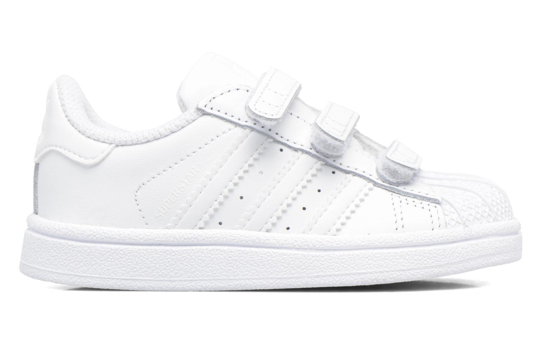 Baskets Adidas Originals Superstar CF I Blanc vue derrière