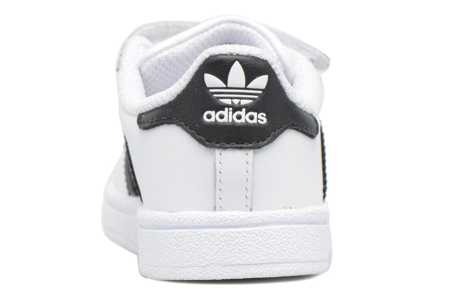 Deportivas Adidas Originals Superstar CF I Blanco vista lateral derecha