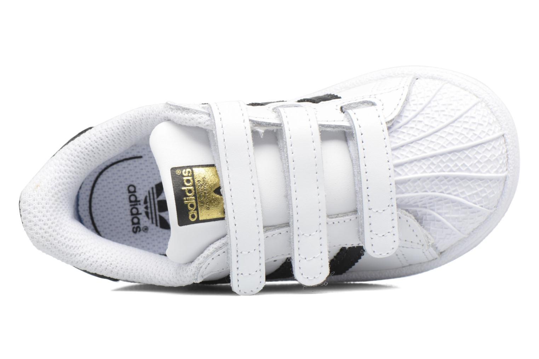 Deportivas Adidas Originals Superstar CF I Blanco vista lateral izquierda
