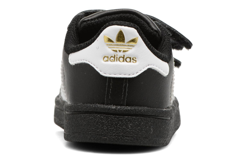 Baskets Adidas Originals Superstar CF I Noir vue droite