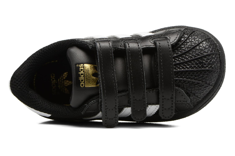 Baskets Adidas Originals Superstar CF I Noir vue gauche