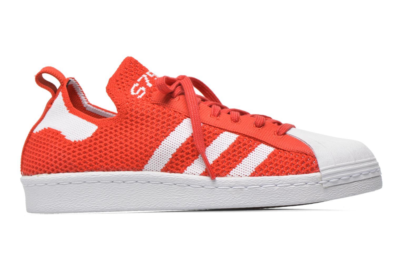 Sneakers Adidas Originals Superstar 80S PK W Rød se bagfra