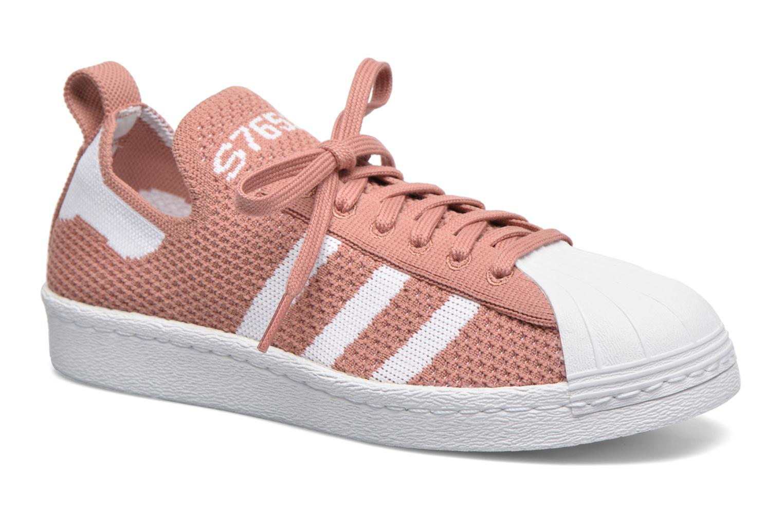 adidas superstar w rose et blanc