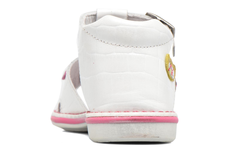 Sandales et nu-pieds Catimini Cicadelle Blanc vue droite