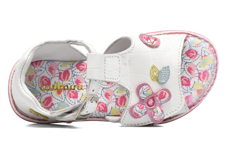 Sandales et nu-pieds Catimini Cicadelle Blanc vue gauche