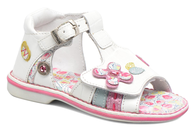 Sandales et nu-pieds Catimini Cicadelle Blanc vue détail/paire