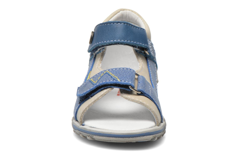Sandales et nu-pieds Catimini Capucin Bleu vue portées chaussures