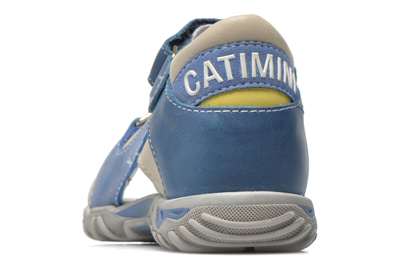 Sandales et nu-pieds Catimini Capucin Bleu vue droite