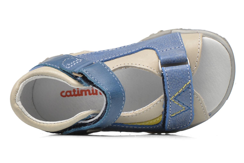 Sandales et nu-pieds Catimini Capucin Bleu vue gauche