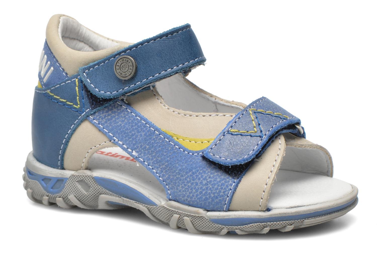Sandales et nu-pieds Catimini Capucin Bleu vue détail/paire